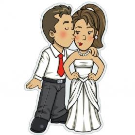 Adesivi per matrimoni