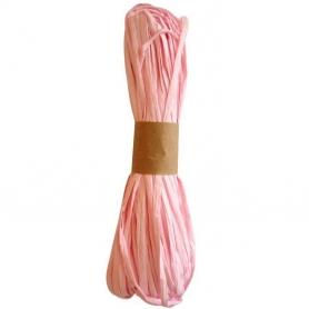 Nastro di rafia per regali rosa