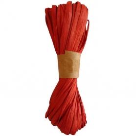 Nastro di rafia per regali rossi