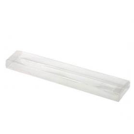 Tubo in acetato trasparente