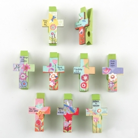 Clip a forma di croce