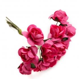 Carta di ornamenti floreali