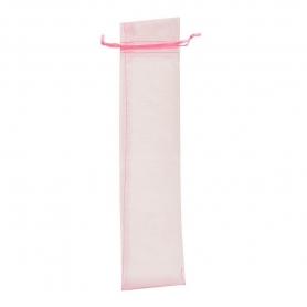Borsa in organza per fan rosa chiaro