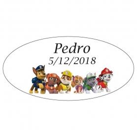 Paw Patrol Tags