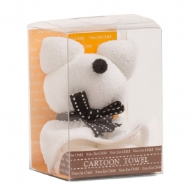 Asciugamano viso orso