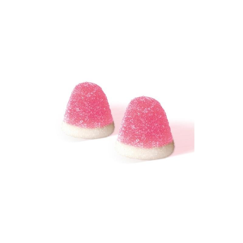 Fagioli di gelatina alla fragola e crema