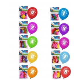 Pacchetto palloncini numerici