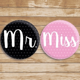 Distintivi di Miss e Mr Original