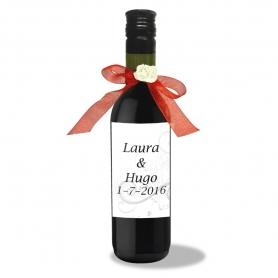 Bottiglie di vino personalizzate per matrimoni
