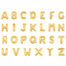 Palloncini lettere d'oro
