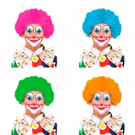 Parrucca da clown