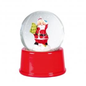 Sfera di cristallo di Natale