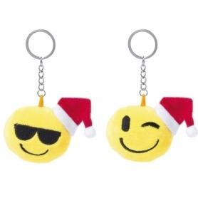 Emoticon di Natale Portachiavi