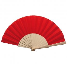 Fan di legno rosso