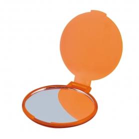 Specchio pieghevole arancione
