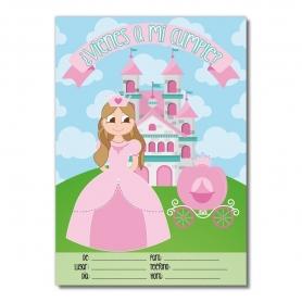 Invito compleanno principessa