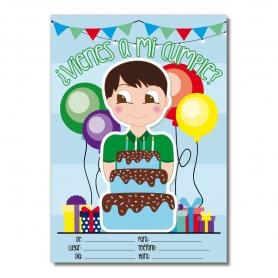 Invito di compleanno per ragazzi