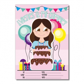 Inviti di compleanno per ragazze