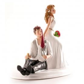 Figura Cake Wedding Groom Drunk
