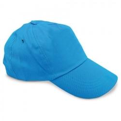 Cappellino Az-me 100% cotone con velcro