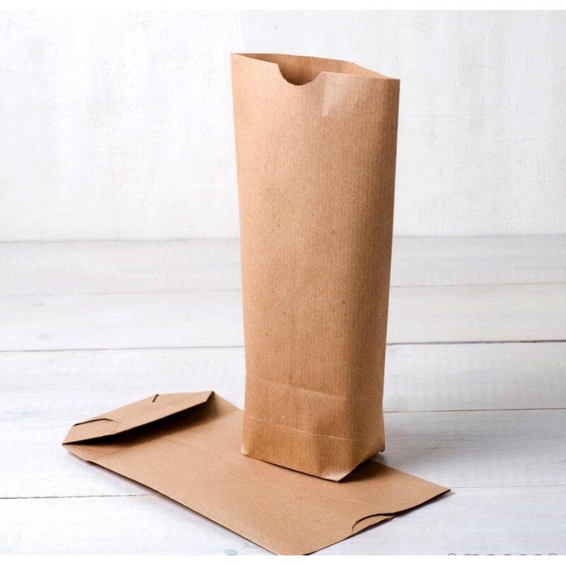 Confezione 50 sacchetti di carta Kraft