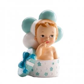 Figura di battesimo Regalo e palloncini per bambini