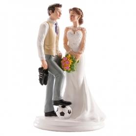 Figura Coppia di coppie di calcio