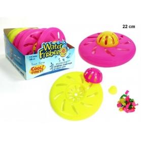 Disco volante con palloncini