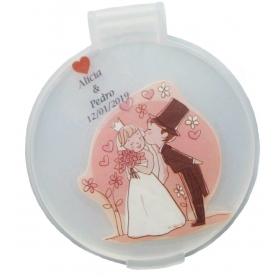 Specchio da sposa personalizzato